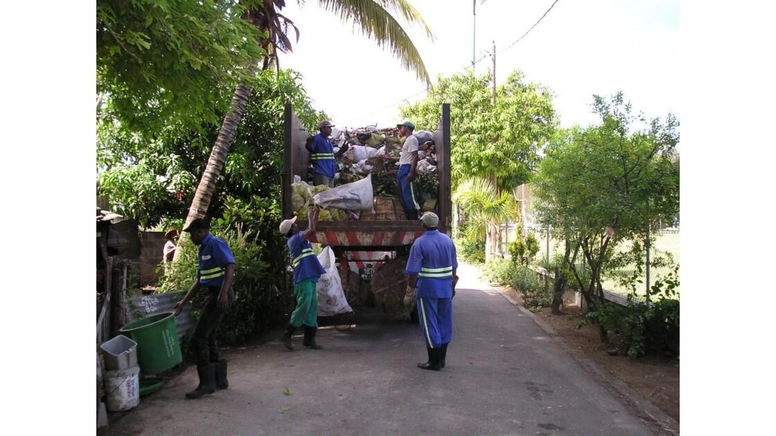 éboueurs Mauriciens