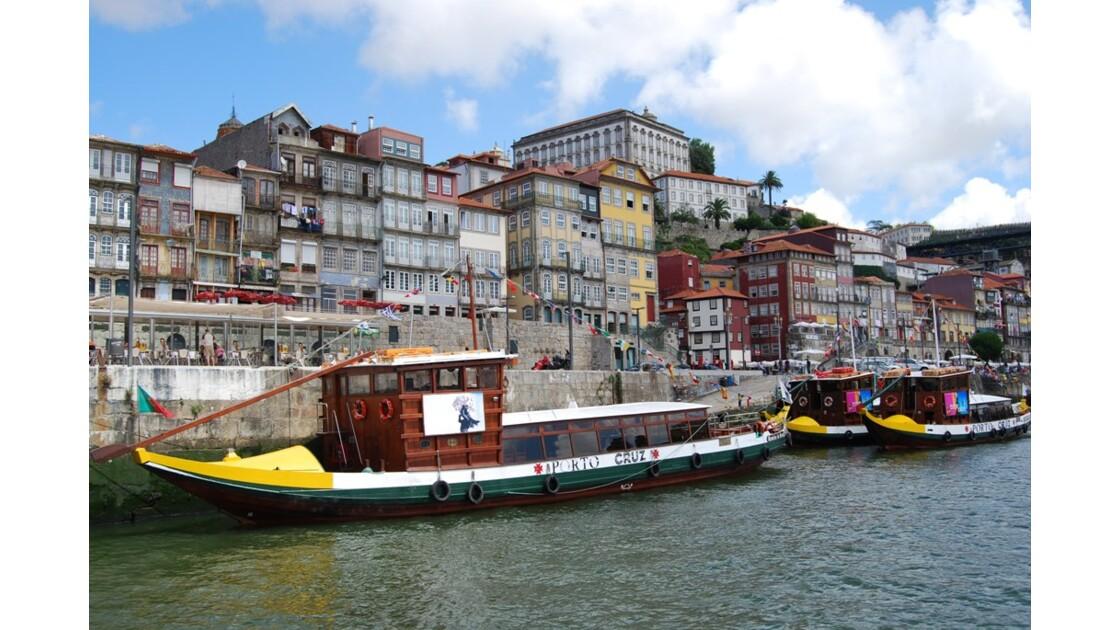 Bord du Douro à Porto