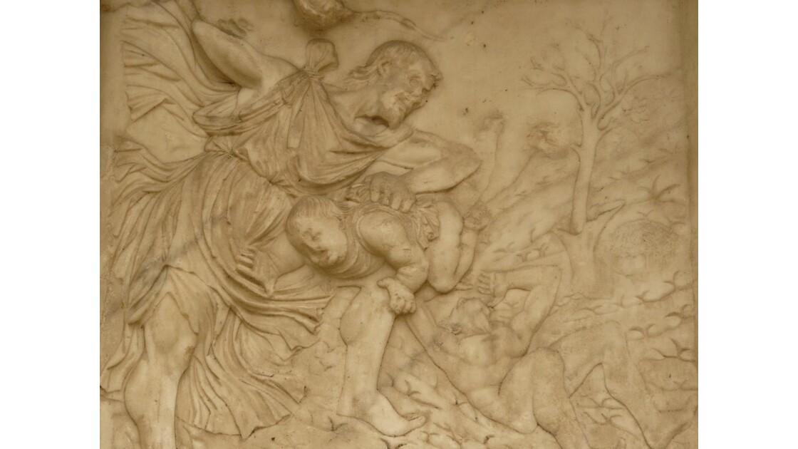 Bergame - détail façcade cathédrale (3)