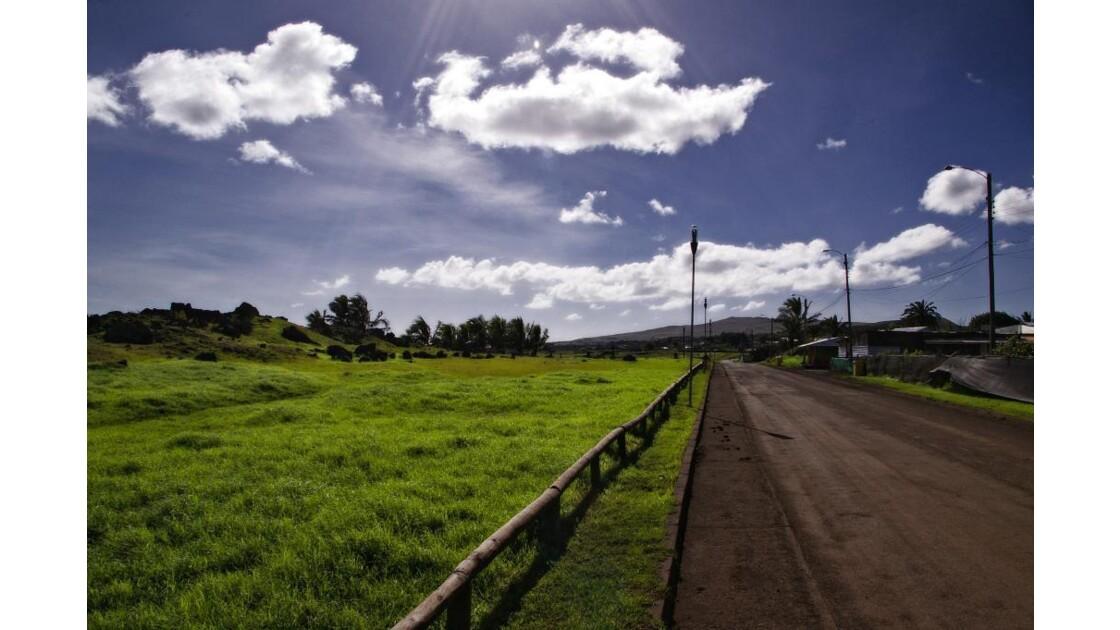 En route vers Hanga Roa