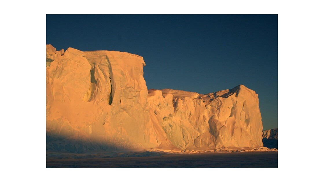 Glacier en hiver