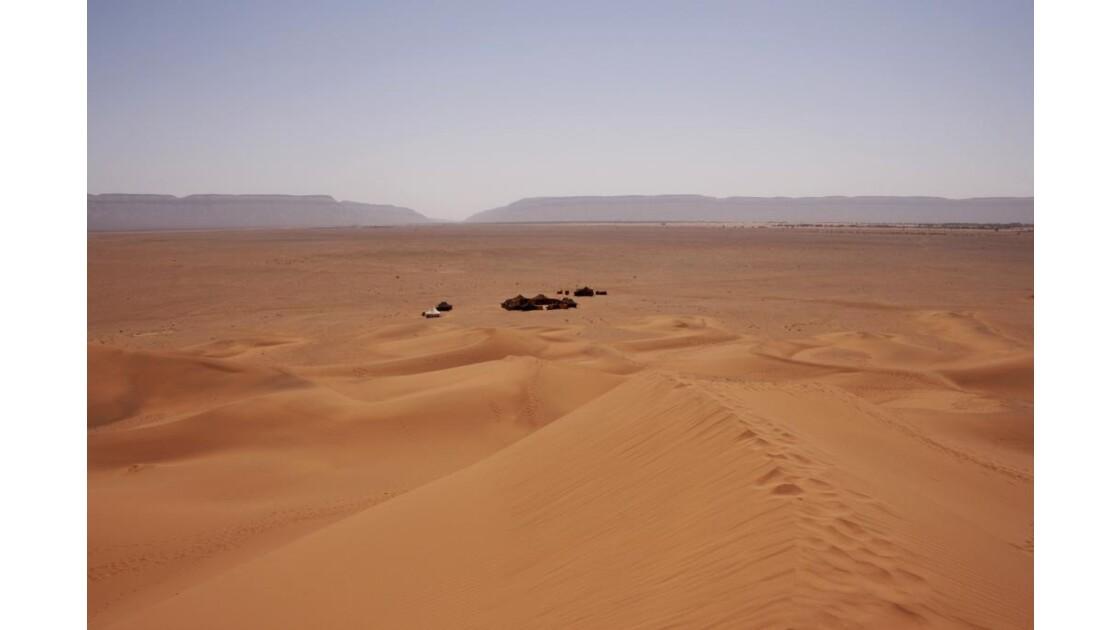 Bivouac aux portes du Sahara