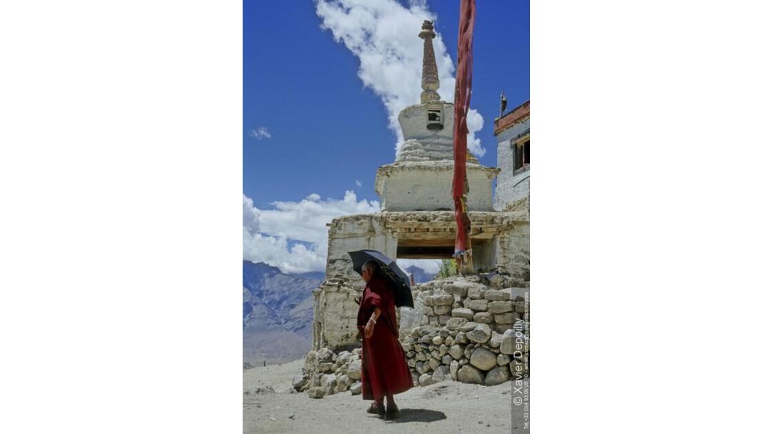 Moine au Ladakh