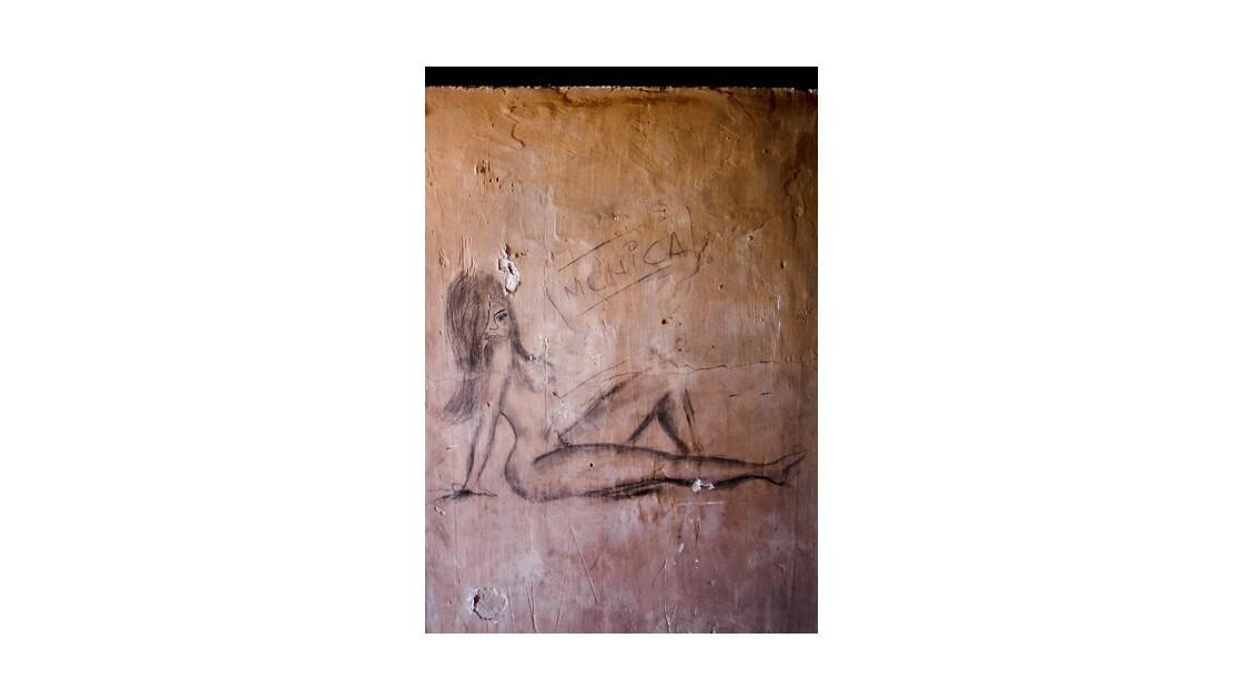 Humberstone - Chili : grafiti