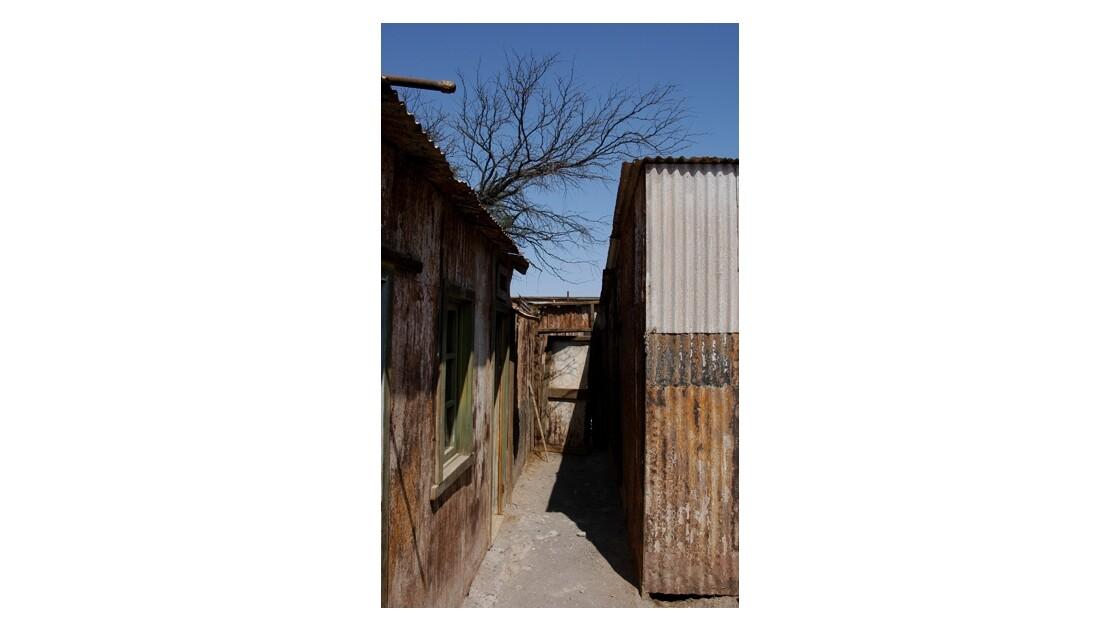 Humberstone - Chili : jardin