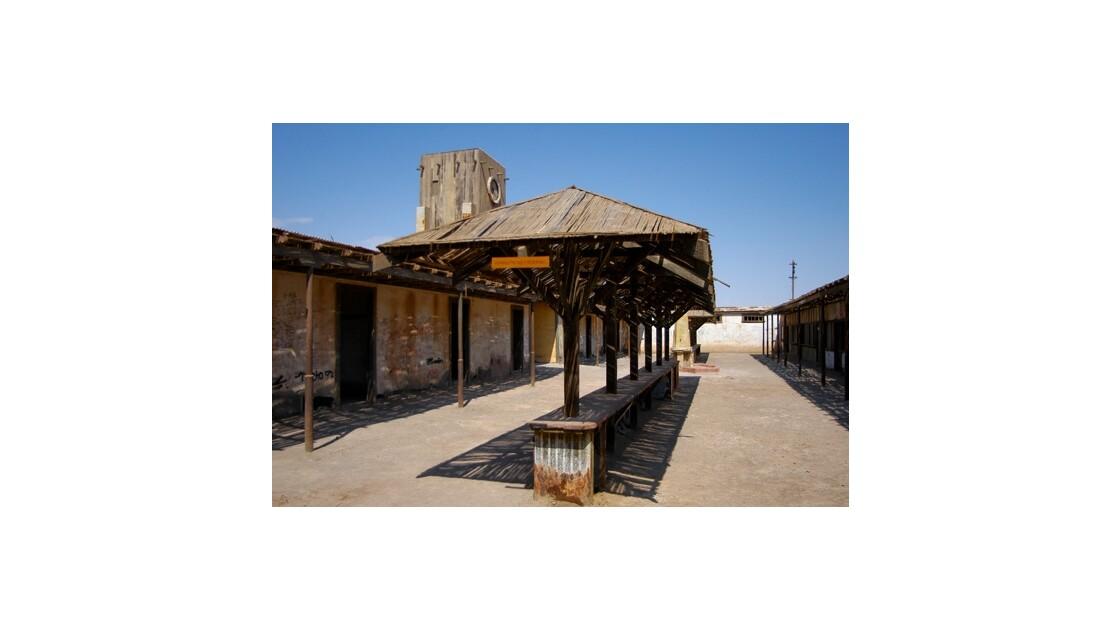 Humberstone - Chili : la marché