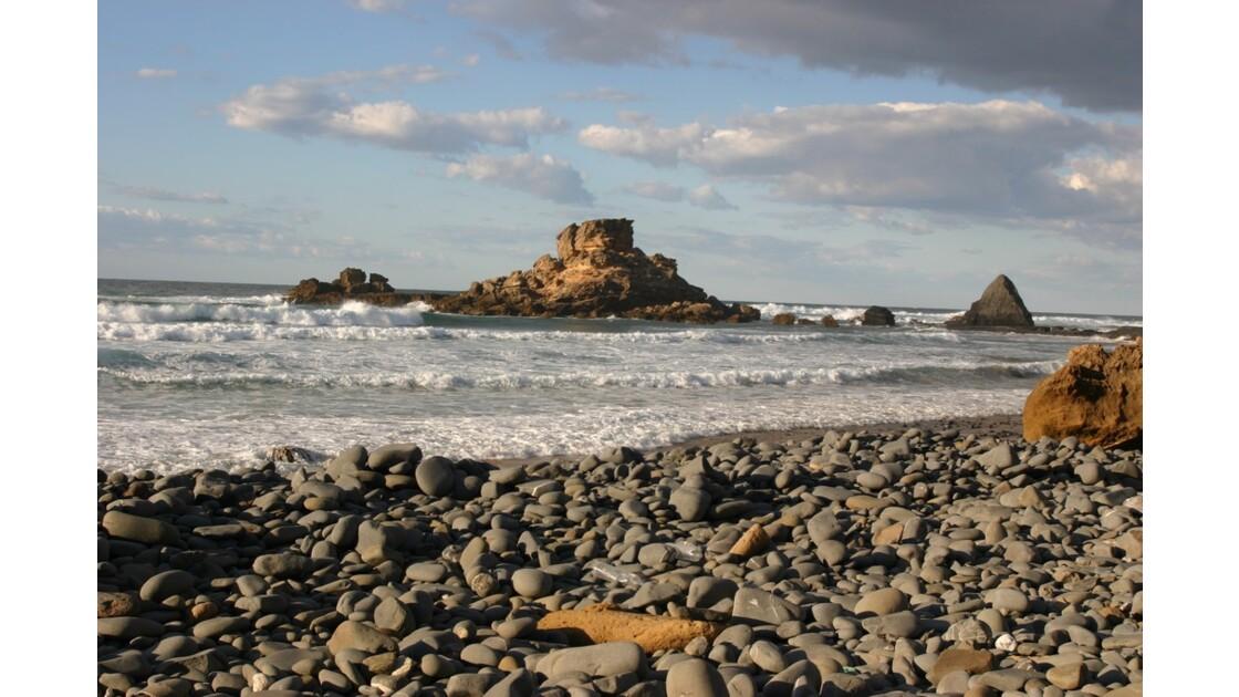 une plage au sud du portugal
