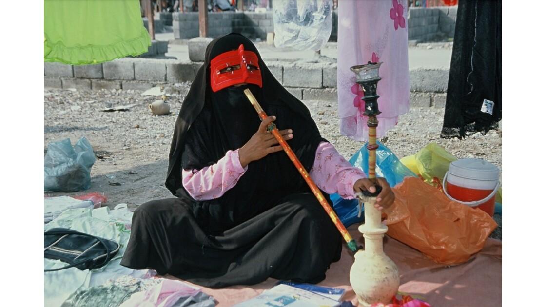 A Minab, au sud de l'Iran,sur le marché