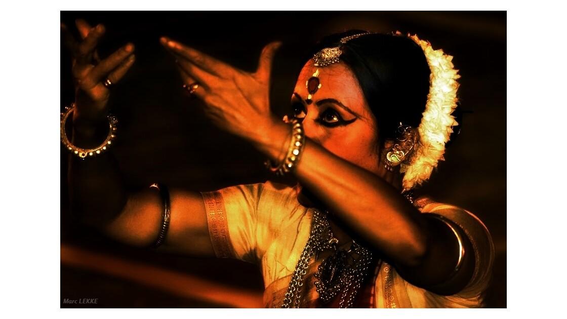 Danseuse au Rajasthan Inde