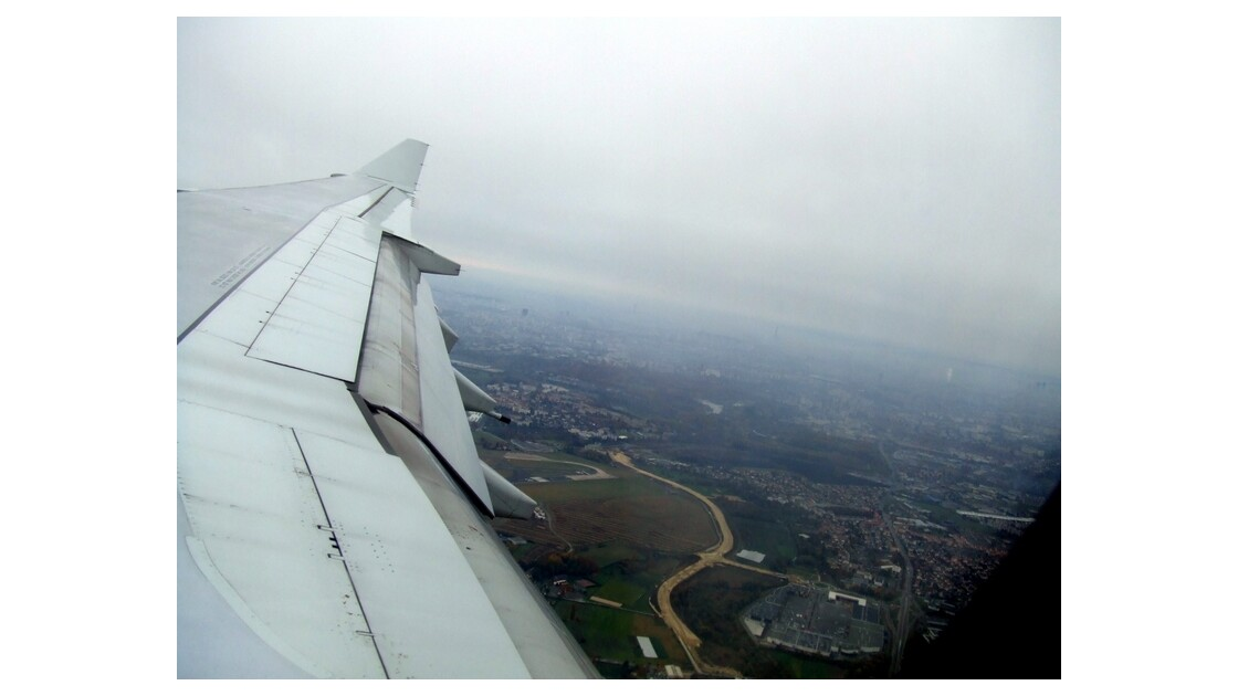 une autre vu de notre avion