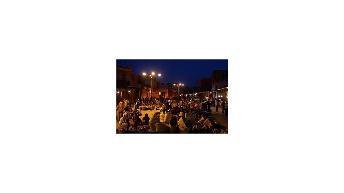 Marché de nuit Marrakech