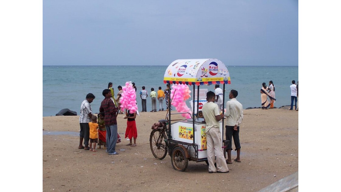 Plage de Pondichery