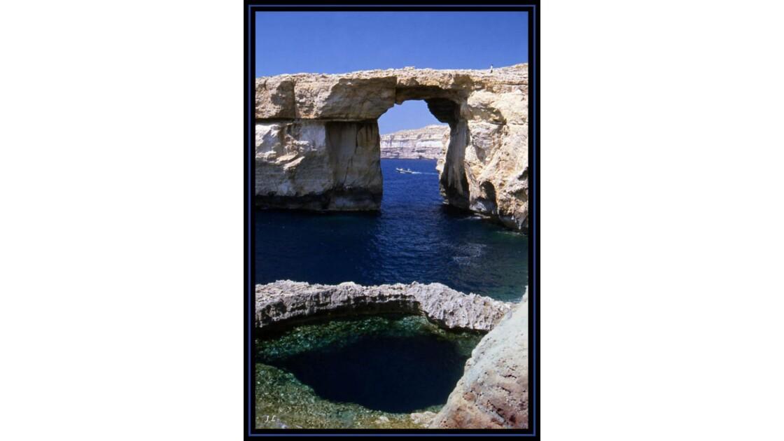 Azure window  ile de Gozo.