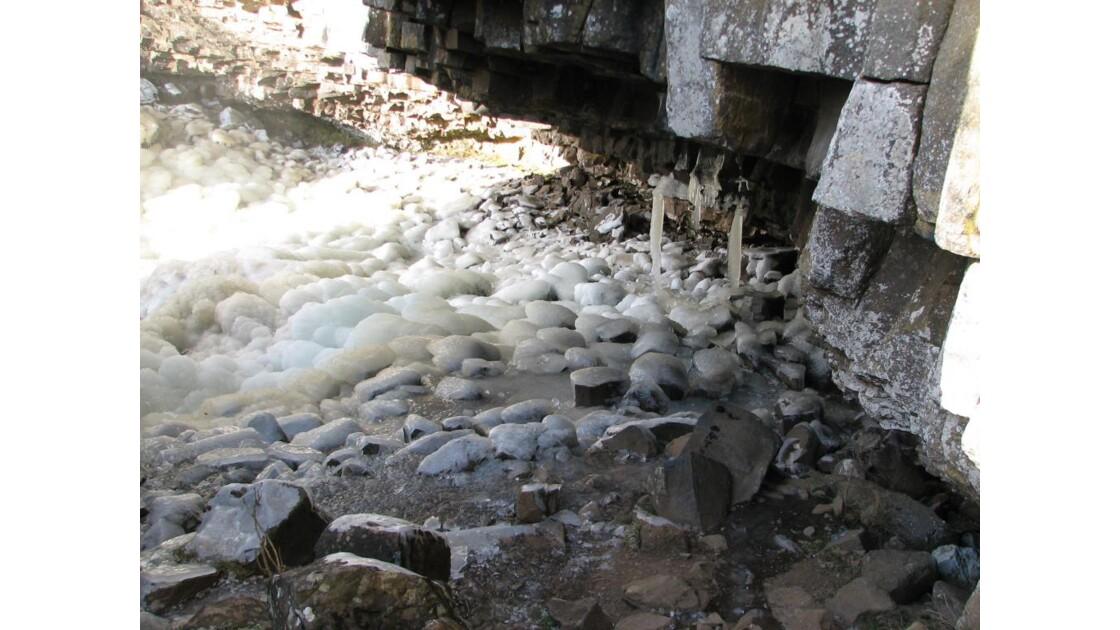 la glace et le roc