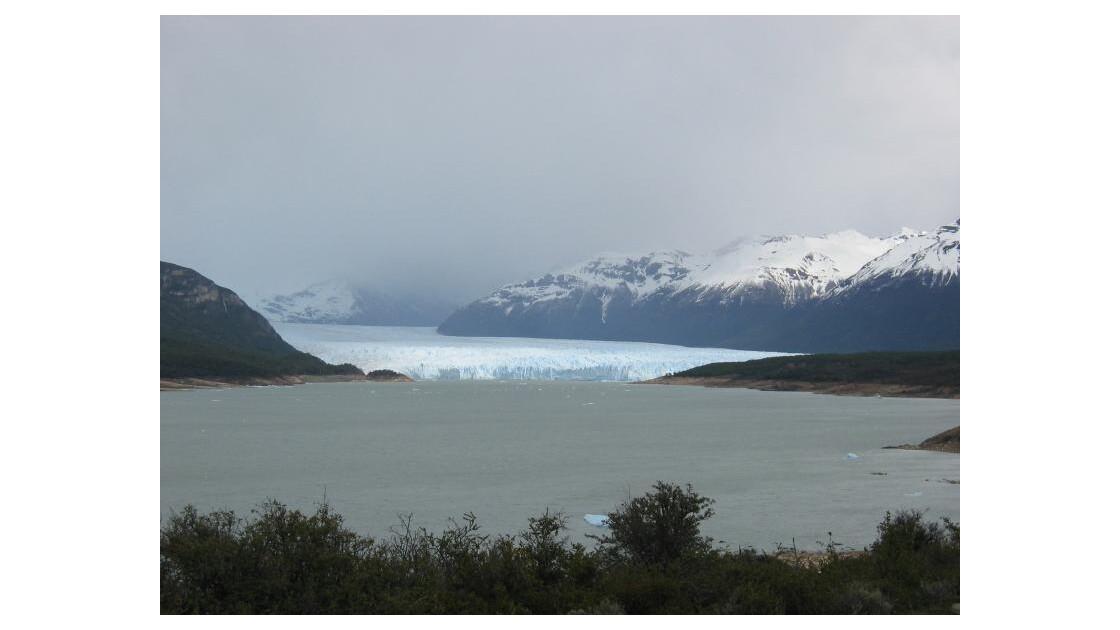 le Perito Moreno vu côté Nord