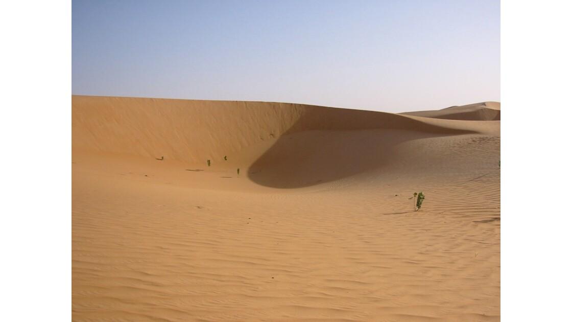 Les dunes autour de Chinguetti