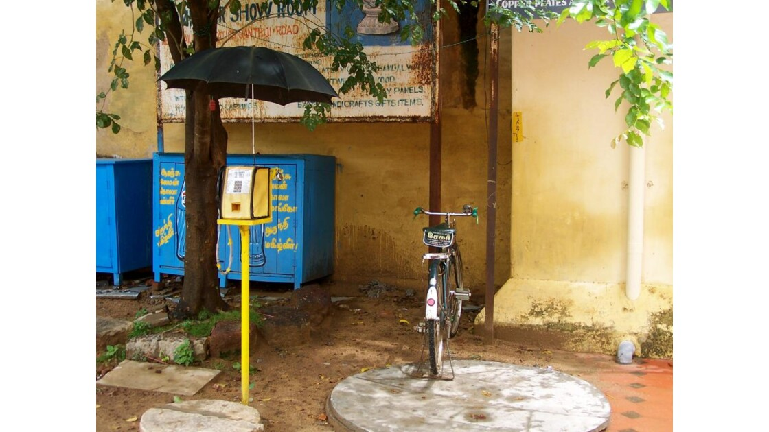 téléphone public indien