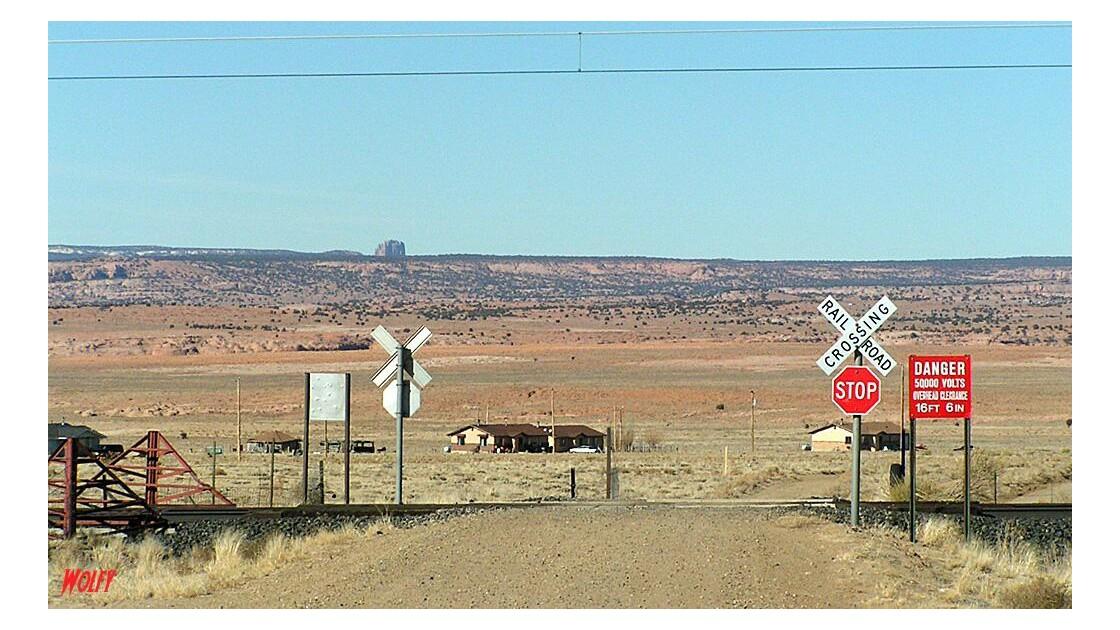 passage à niveaux en Arizona