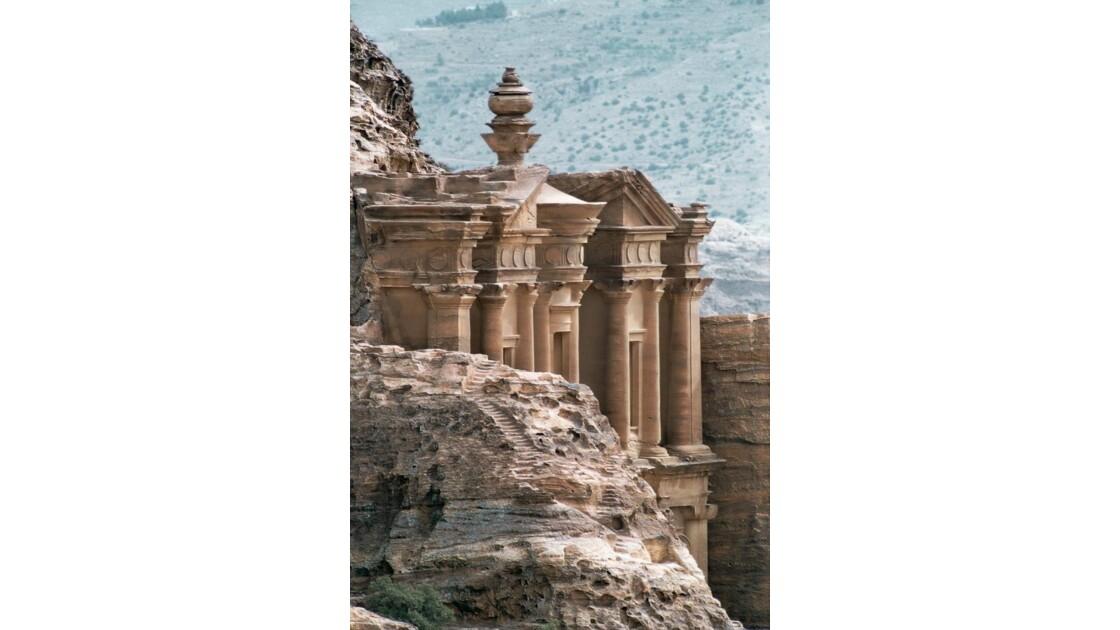 Le monastéres - Pétra - jordanie