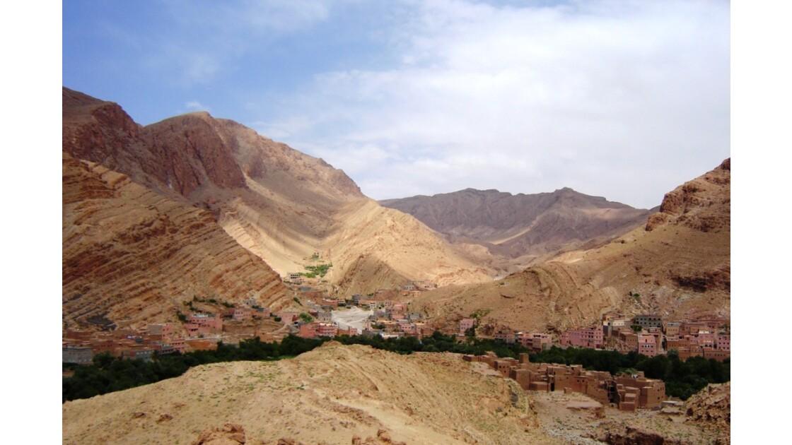 Gorges de Todra, Atlas, Maroc