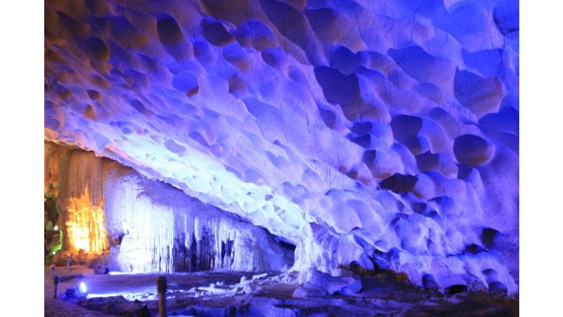 Along cave