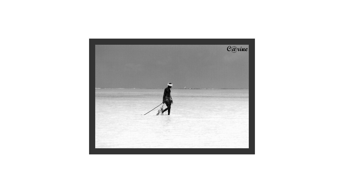 pêcheur à Zanzibar