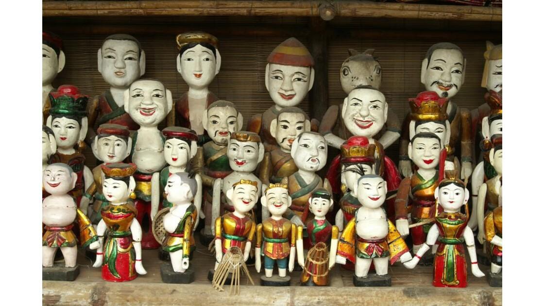 Marionnettes sur l'eau