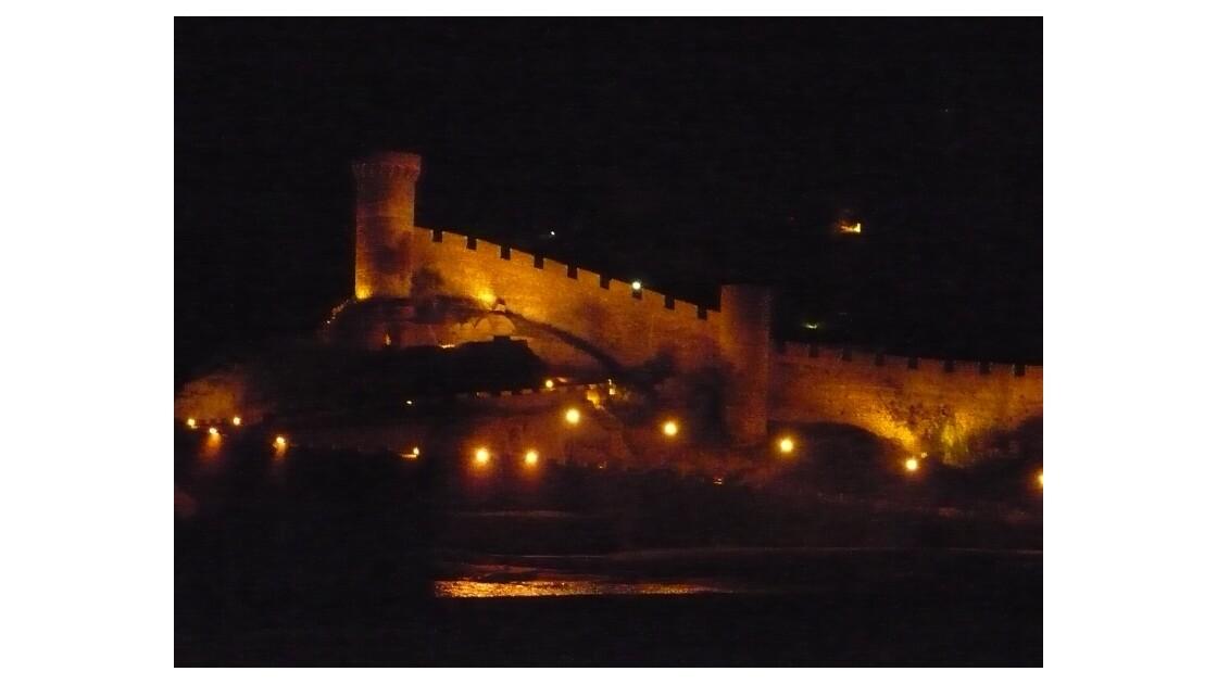 Tossa De Mar .By Night