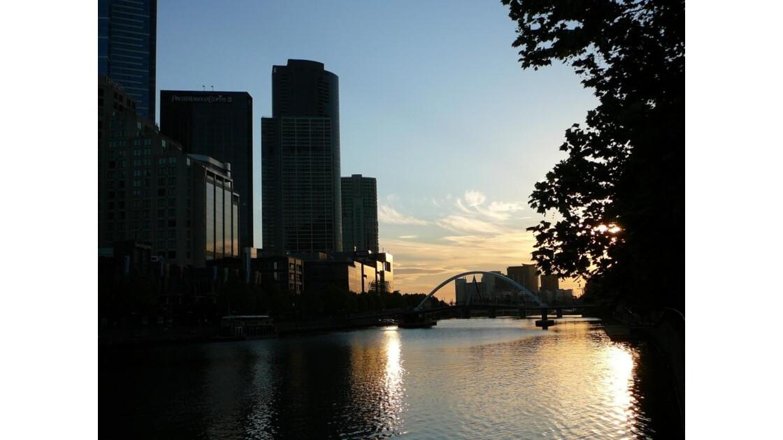 sunset sur Melbourne