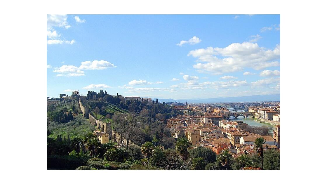 Florence : vue de San Miniano