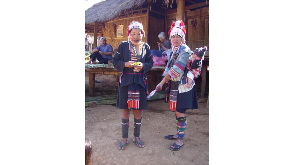 Ethnies, Nord de la Thaïlande, janv 200