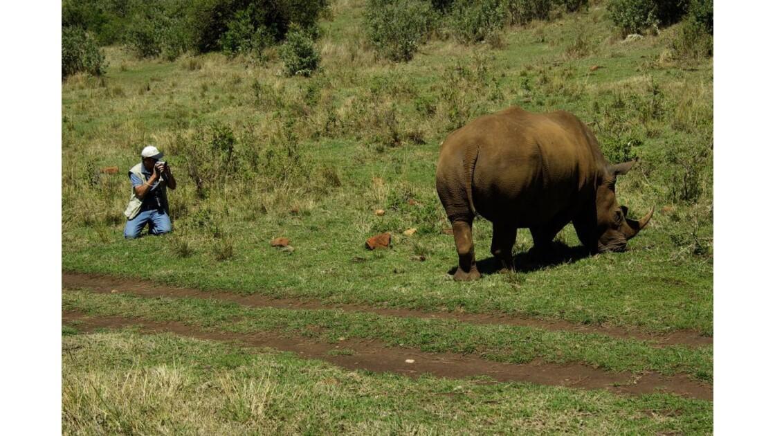 Alain & rhino nord Mara
