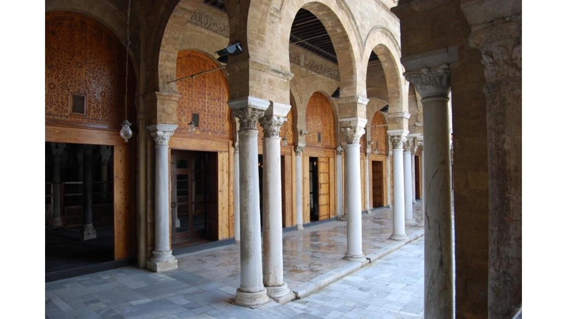 Grande mosquée à Tunis