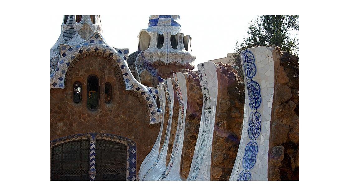 Barcelone : parc Güell