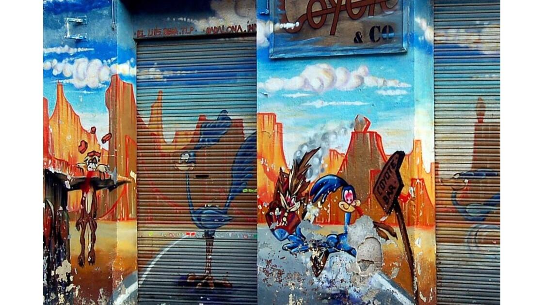 Barcelone : graff