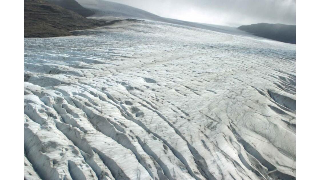Glacier Ampère - Survol
