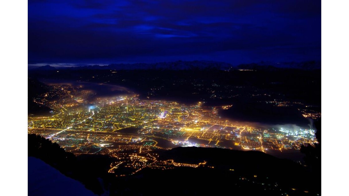 Grenoble  de nuit