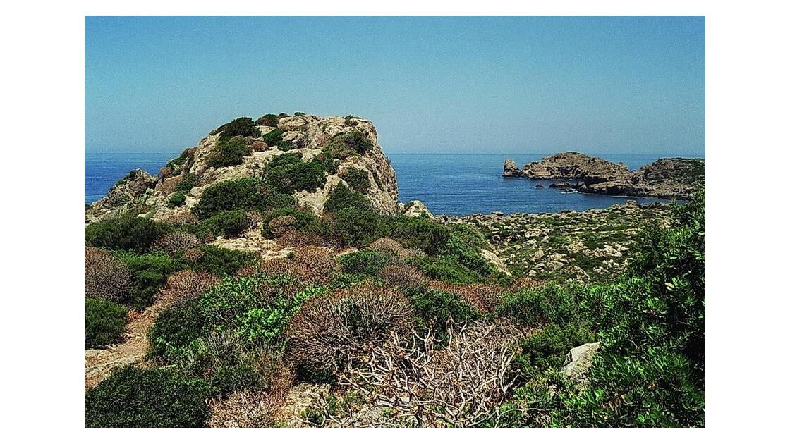 mer de Lybie,baie d'Elafonissi