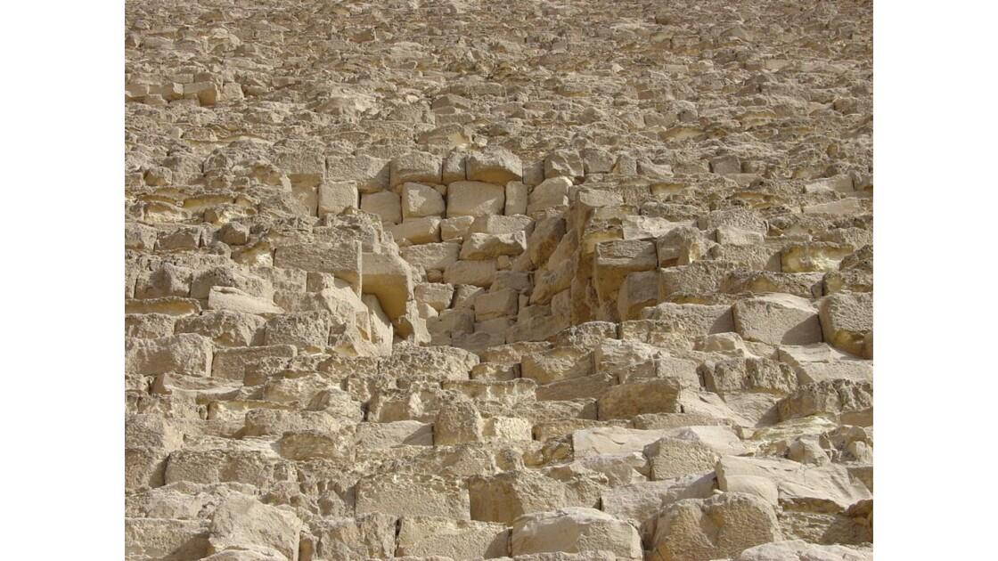 Le plateau de Gizeh
