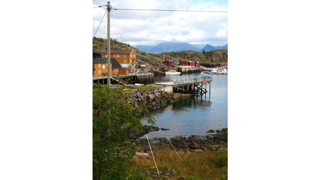 Stamsund Iles Lofoten Norvege