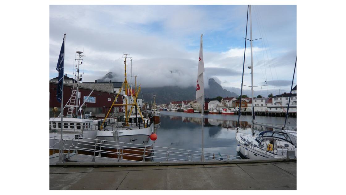 Hennigsvear Iles Lofoten Norvege