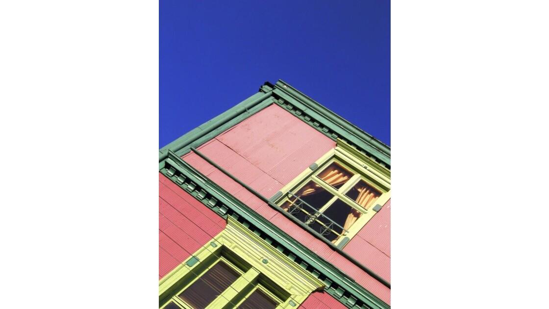 Façade, Valparaiso