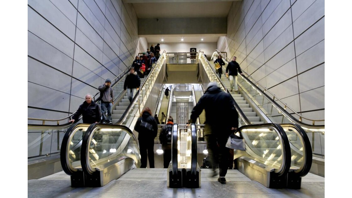 Escalator, Copenhague
