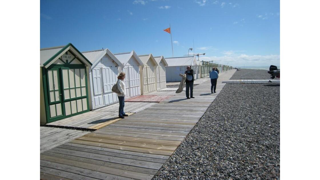 la plage de Cayeux (80)