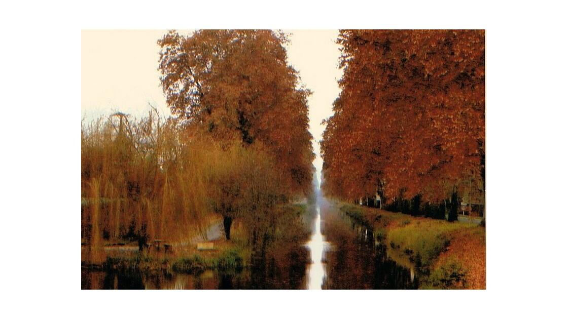 couleurs sur le canal