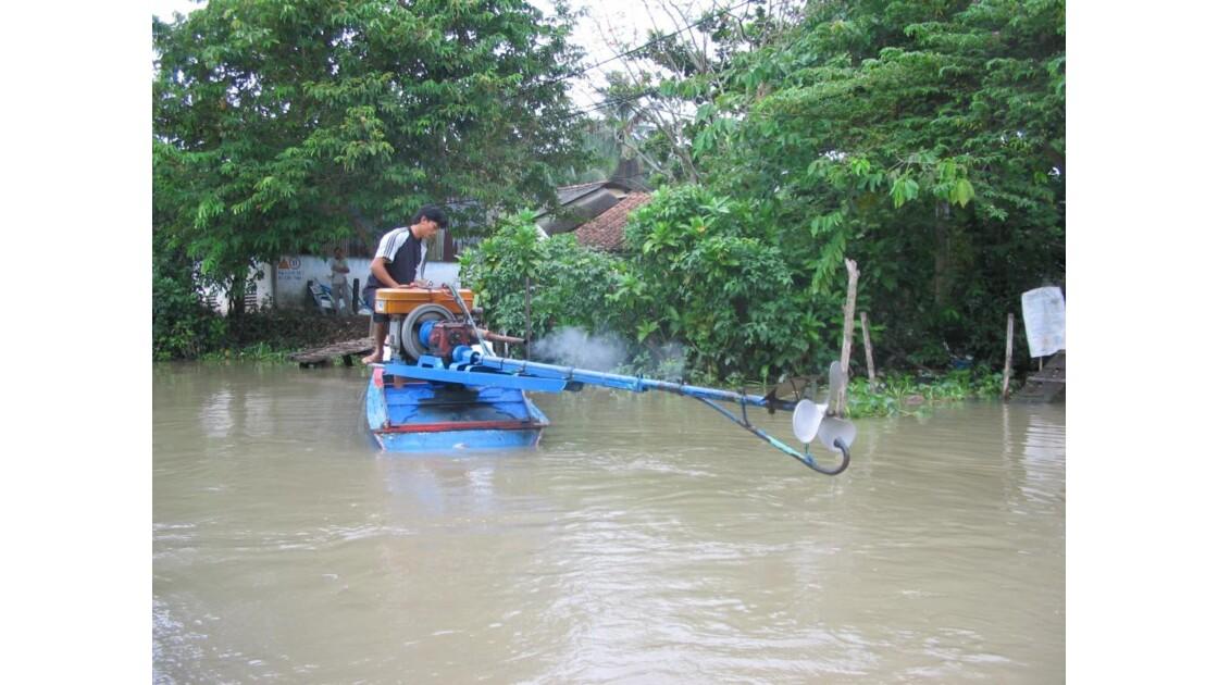 Dans le Mekong