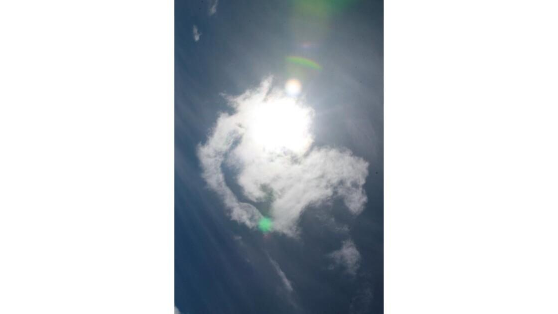 soleil et nuage