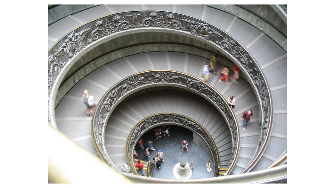 Vatican : Escaliers