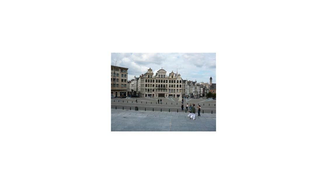 Promenade dans la ville de Bruxelles