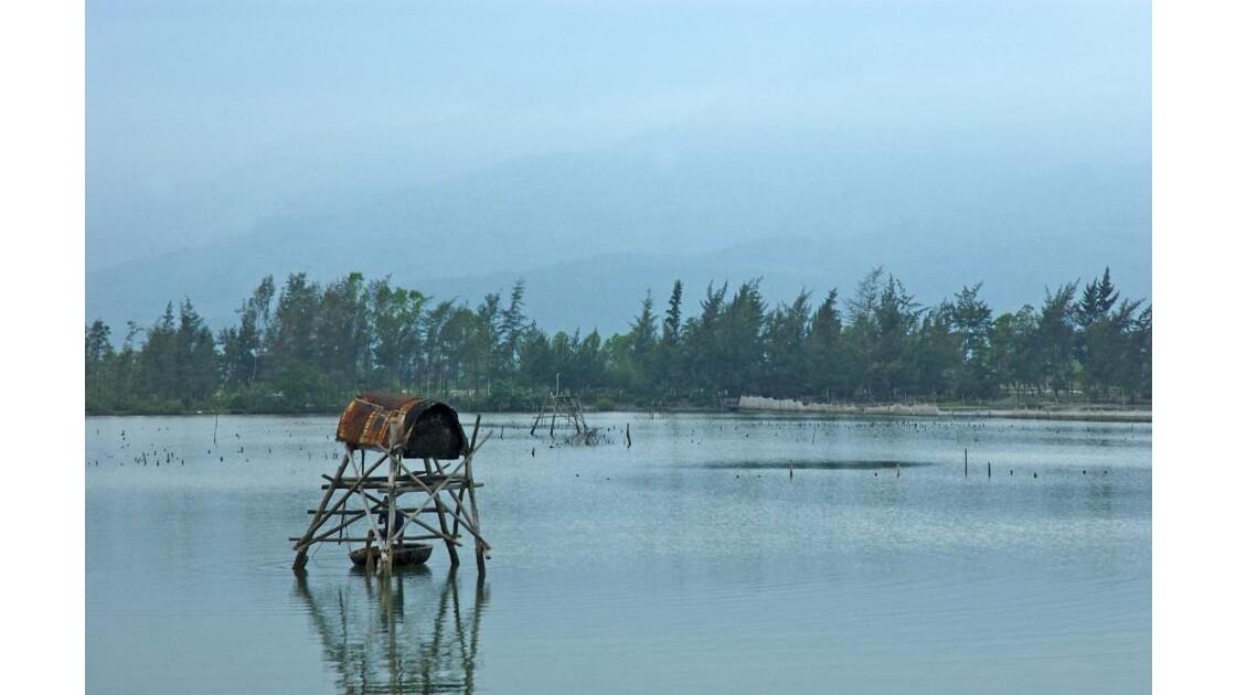 Cabane de pêcheurs vers Lang Co